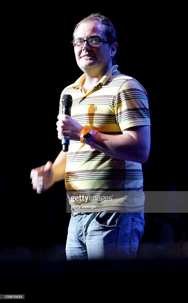 Alan Carr during Europride 2006 - Show at Royal Albert Hall in London, Great Britain.