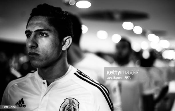 Alan Cervantes of Mexico is seen in the tunnel during the FIFA U-20 World Cup Korea Republic 2017 group B match between Mexico and Venezuela at Suwon...