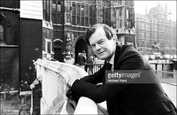 Alan Clark, MP for Plymouth Sutton.