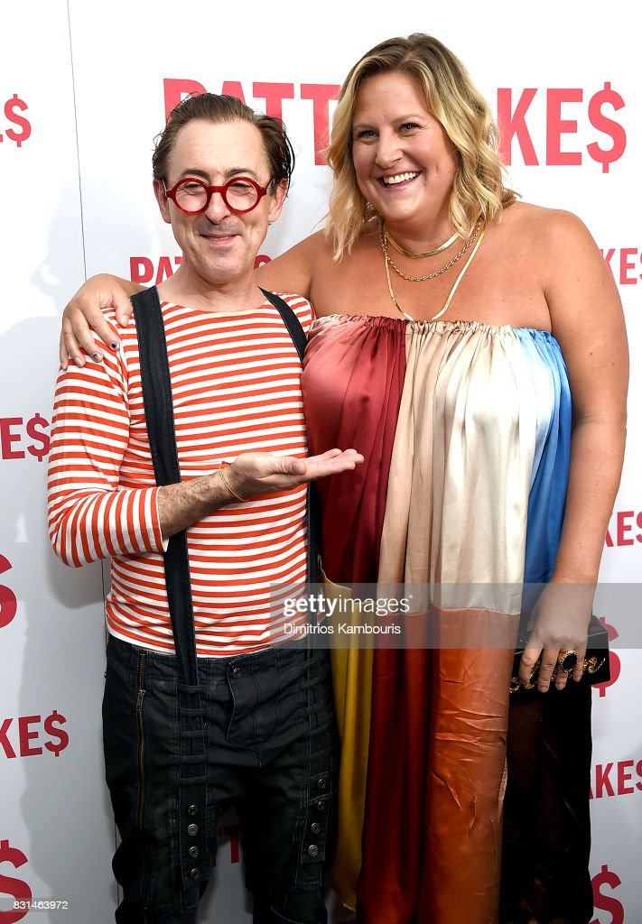 Alan Cumming and Bridget Everett attend the 'Patti Cake$' New York Premiere at The Metrograph on August 14, 2017 in New York City.