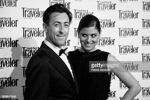 Alan Cumming and Debra Messing attend CONDE NAST TRAVELER Readers' Choice Awards & 20TH Anniversary Party at Cooper-Hewitt National Design Museum on...