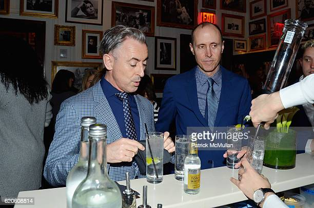 Alan Cumming and Grant Shaffer at Tommy Hilfiger Celebrates the Launch of His Memoir American Dreamer My Life in Fashion Business at The Clocktower...
