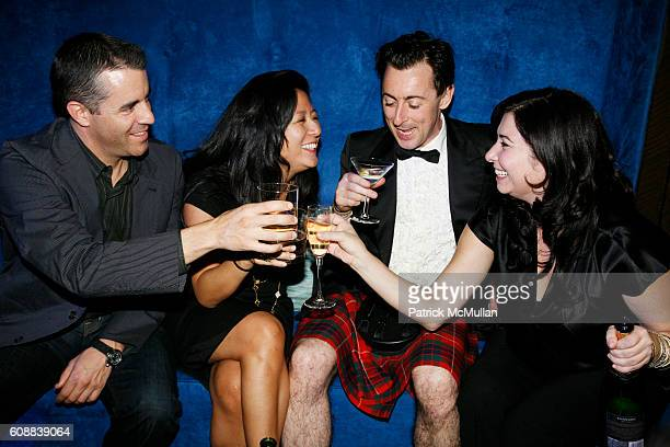 Alan Cumming and Guests attend CONDE NAST TRAVELER Readers' Choice Awards & 20TH Anniversary Party at Cooper-Hewitt National Design Museum on October...