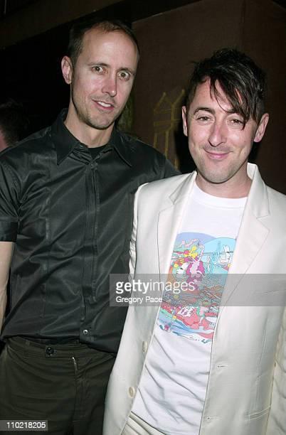 Alan Cumming and his boyfriend Grant Schaffer