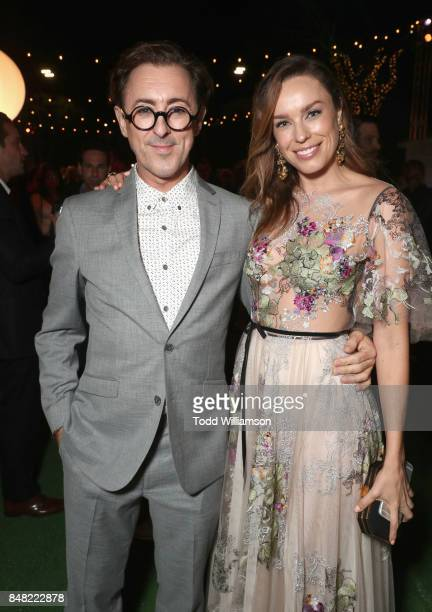 Alan Cumming and Jessica McNamee at Fox Searchlight's Battle of the Sexes Los Angeles Premiere on September 16 2017 in Westwood California