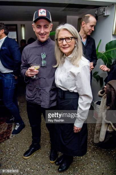 Alan Cumming and Sally Potter attend the screening after party for 'The Party' hosted by Roadside Attractions and Great Point Media with The Cinema...