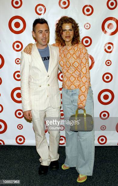 Alan Cumming and Sandra Bernhard during Grand Opening of Target Store on Flatbush Avenue in Brooklyn Arrivals at Target at Flatbush Ave in New York...