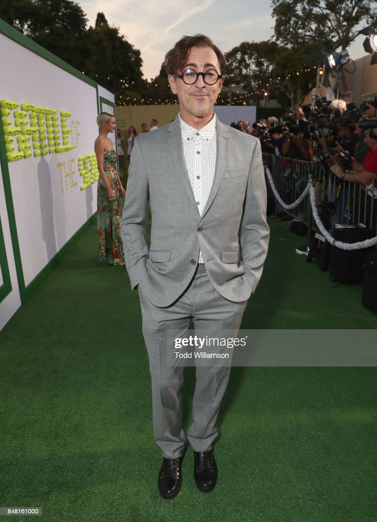 Alan Cumming at Fox Searchlight's 'Battle of the Sexes' Los Angeles Premiere on September 16, 2017 in Westwood, California.