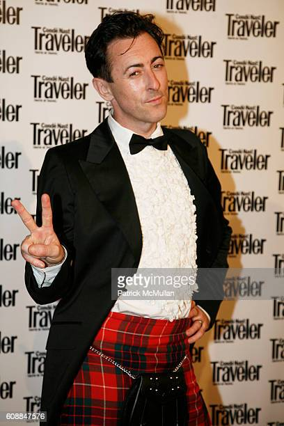 Alan Cumming attends CONDE NAST TRAVELER Readers' Choice Awards & 20TH Anniversary Party at Cooper-Hewitt National Design Museum on October 10, 2007...