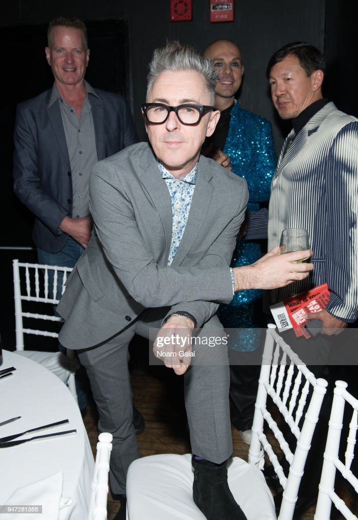 Alan Cumming attends the 2018 New York Live Arts Gala at Irving Plaza on April 16, 2018 in New York City.