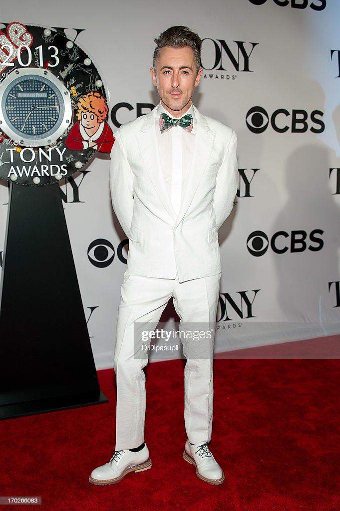 Alan Cumming attends the 67th Annual Tony Awards at Radio City Music Hall on June 9, 2013 in New York City.