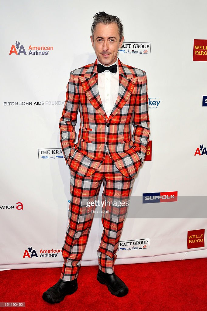Alan Cumming attends the Elton John AIDS Foundation's 11th Annual 'An Enduring Vision' Benefit at Cipriani Wall Street on October 15, 2012 in New York City.