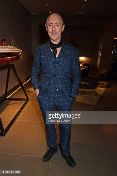 Alan Cumming attends the press night after party for Endgame at Sea Containers on February 4 2020 in London England