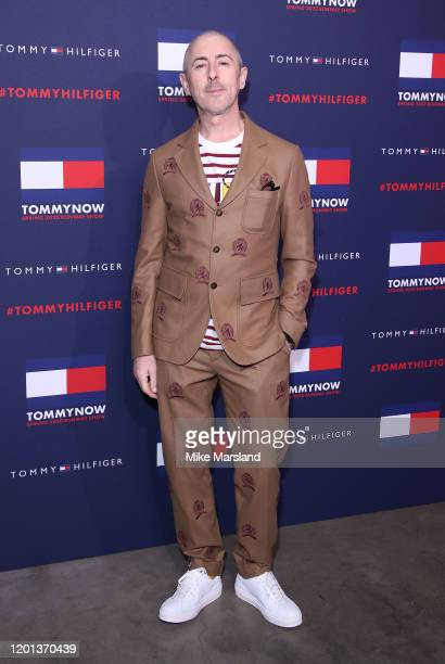 Alan Cumming attends the TommyNow Step Repeat during London Fashion Week February 2020 at the Tate Modern on February 16 2020 in London England