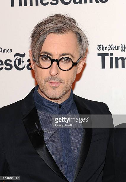 Alan Cumming attends TimesTalk Presents An Evening With 'Cabaret' at The Times Center on February 24 2014 in New York City