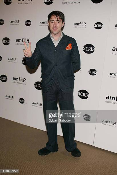 Alan Cumming during amfAR and ACRIA Honor Herb Ritts for His Work and Activism at Sotheby's in New York New York United States