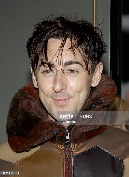 Alan Cumming during Opening Night of Jumpers Arrivals at Brooks Atkinson Theater in New York City New York United States
