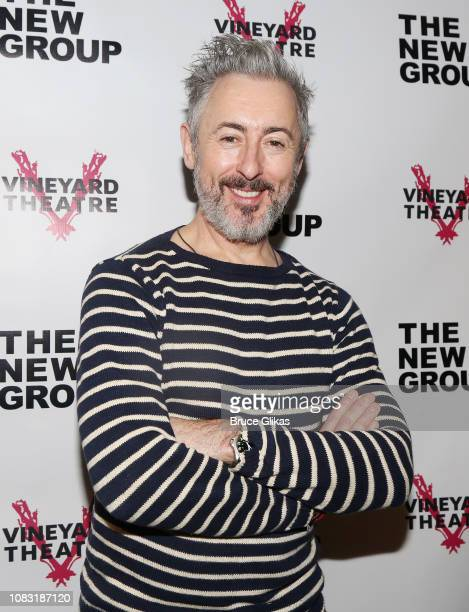 Alan Cumming poses at a photo call for the New Group/Vineyard play Daddy at The Daryl Roth Theatre on January 15 2019 in New York City