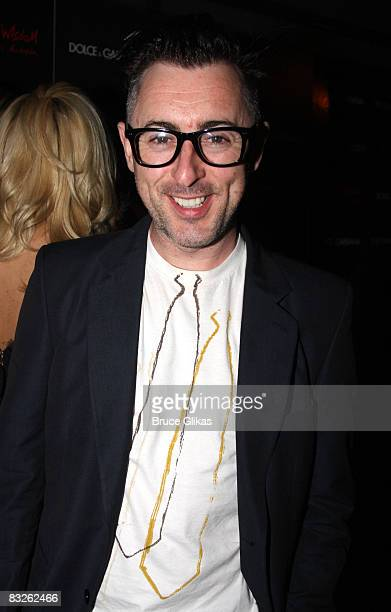 Alan Cumming poses at a screening of Filth and Wisdom hosted by The Cinema Society and Dolce and Gabbana at the IFC Center on October 13 2008 in New...