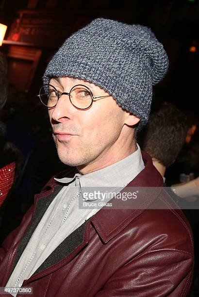 Alan Cumming poses at The Opening Night Arrivals for 'Misery' on Broadway at The Broadhurst Theatre on November 15 2015 in New York City