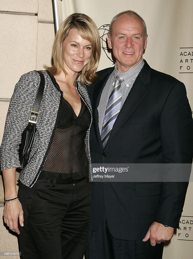 Alan Dale and wife Tracey during Academy of Television Arts
