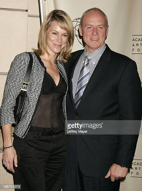 Alan Dale and wife Tracey during Academy of Television Arts Sciences Presents The OC Revealed at Steven Ross Theatre/Warner Bros Studios in Burbank...