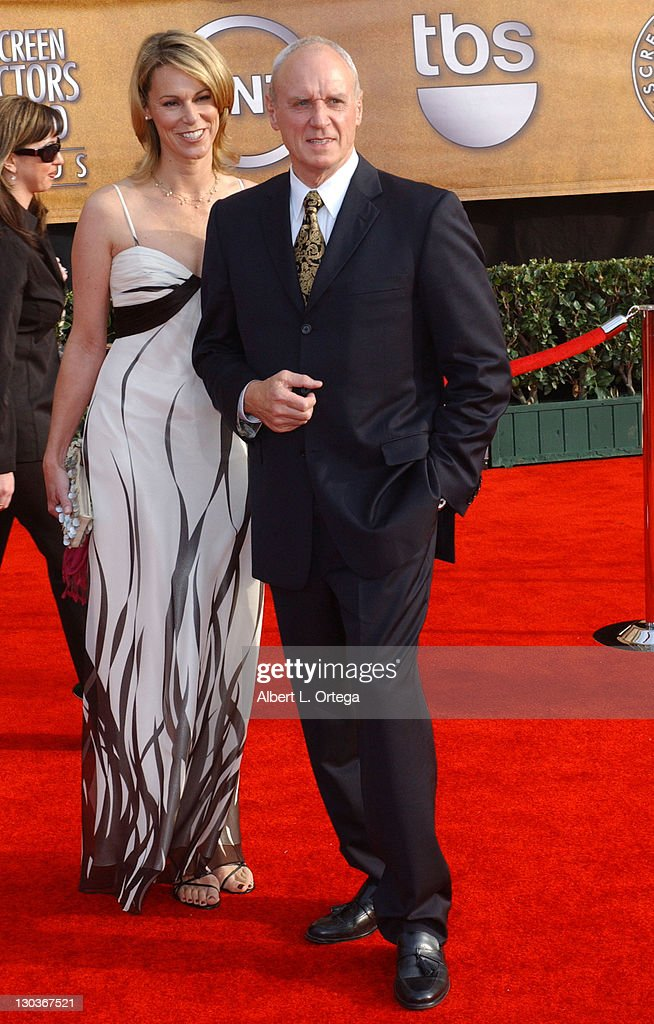 Alan Dale with wife Tracey during 13th Annual Screen Actors
