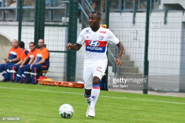 Alan Dzabana of Lyon during the friendly match between Olympique Lyonnais and BourgenBresse on July 8 2017 in Peronnas France