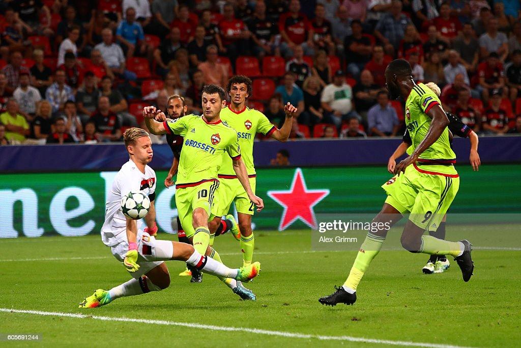 Bayer 04 Leverkusen v PFC CSKA Moskva - UEFA Champions League