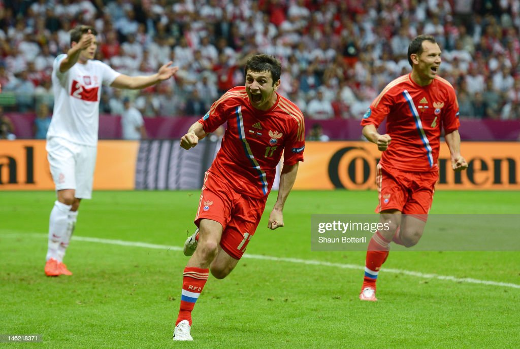 Poland v Russia - Group A: UEFA EURO 2012 : News Photo