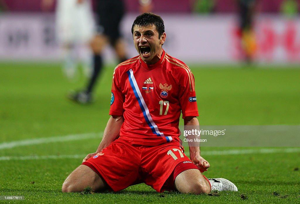 Russia v Czech Republic - Group A: UEFA EURO 2012 : News Photo