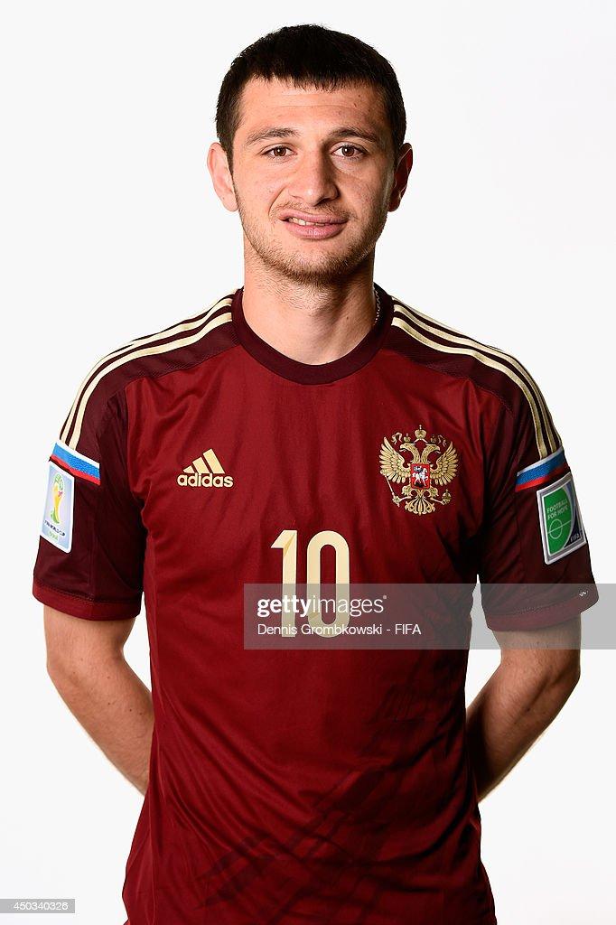 Russia Portraits - 2014 FIFA World Cup Brazil : News Photo