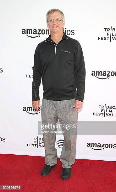 """Alan Eustace attends """"14 Minutes from Earth"""" Premiere - 2016 Tribeca Film Festival at SVA Theatre 2 on April 20, 2016 in New York City."""