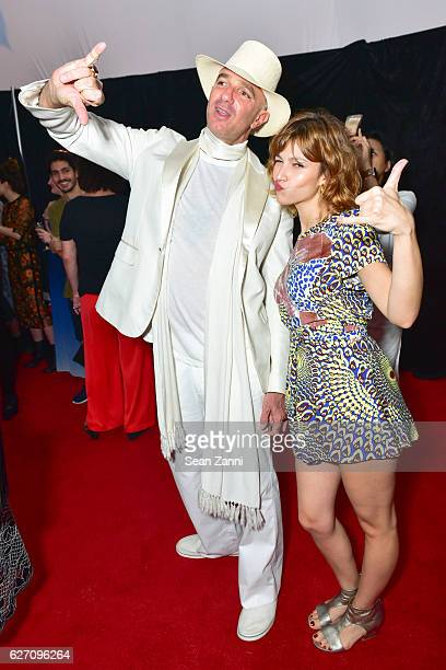 Alan Faena and Ursula Corbero attend Artsy and SoundCloud Present Collective Reality at The Faena Art Dome on November 30 2016 in Miami Beach Florida