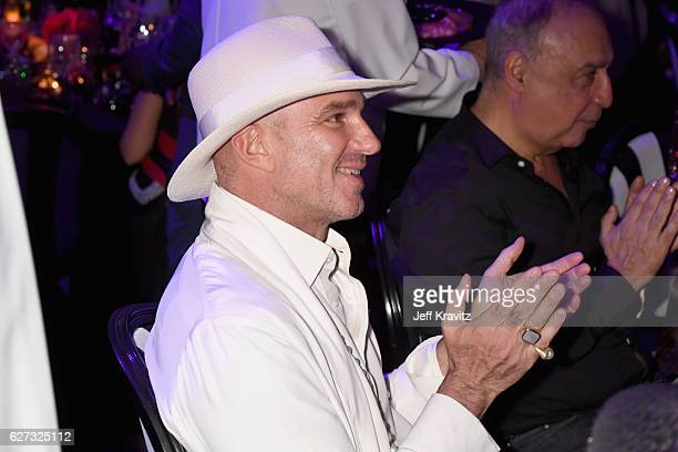 Alan Faena attends Madonna presents An Evening of Music Art Mischief and Performance to benefit Raising Malawi at Faena Forum on December 2 2016 in...