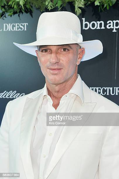 Alan Faena attends the Conde Nast Cadillac Present The Daring 25 event at the Cadillac House on July 27 2016 in New York City