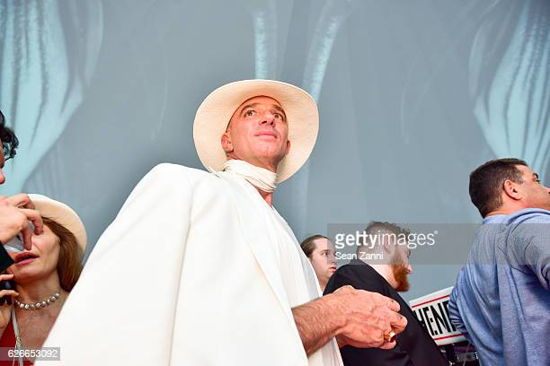 Alan Faena attends The Daily Front Row and Faena Art Celebrate the Launch of The Daily's Miami Edition Featuring Act One at The Faena Art Dome on...