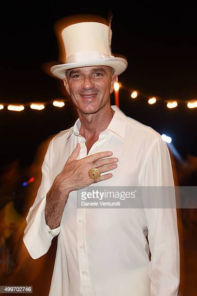 Alan Faena attends W Magazine Art Basel Event at Faena Hotel on December 2 2015 in Miami Beach Florida