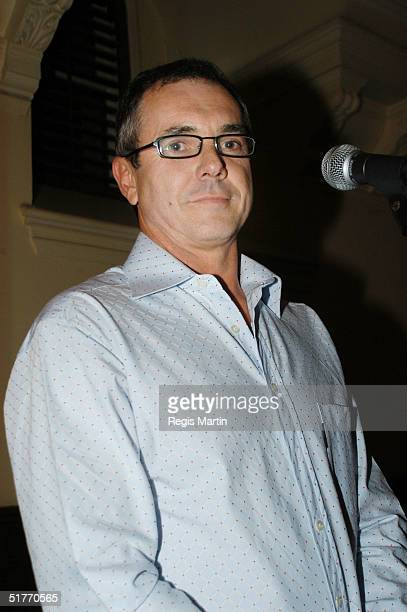 Alan Fletcher attends the after party of the Rocky Horror Show by the cast of the Australian TV show Neighbours to raise money for Variety Club...