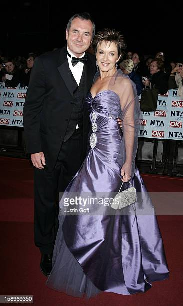 Alan Fletcher Jackie Woodburne Attend The 12Th Anniversary National Television Awards At London'S Royal Albert Hall