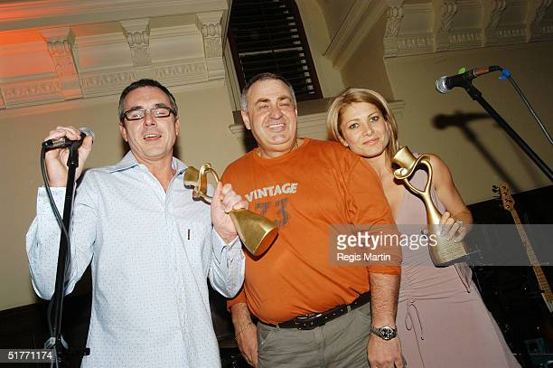 Alan Fletcher Varity Club Australia's Norm Hutton and Natalie Bassingthwaighte attend the after party of the Rocky Horror Show by the cast of the...