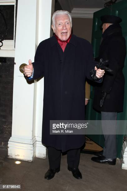 Alan Ford attending the Dunhill and Dylan Jones PreBAFTA Filmmakers Dinner on February 15 2018 in London England