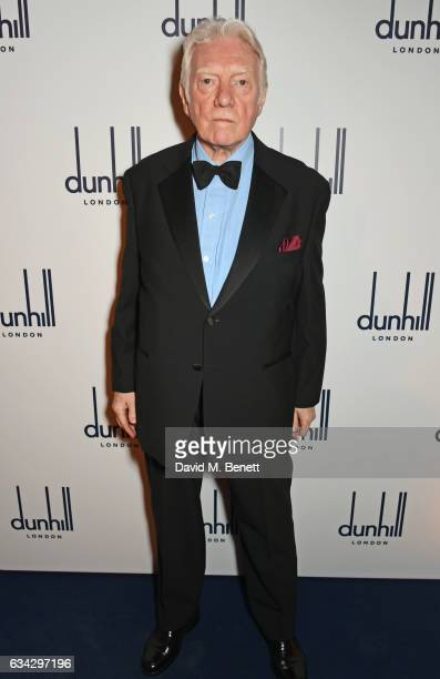 Alan Ford attends the dunhill and Dylan Jones preBAFTA dinner and cocktail reception celebrating Gentlemen in Film at Bourdon House on February 8...