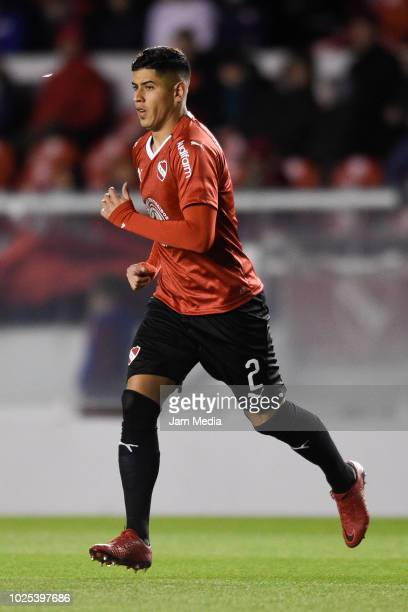 Alan Franco of Independiente in action during a match between Independiente and Defensa y Justica as part of Superliga 2018/19 at Estadio...