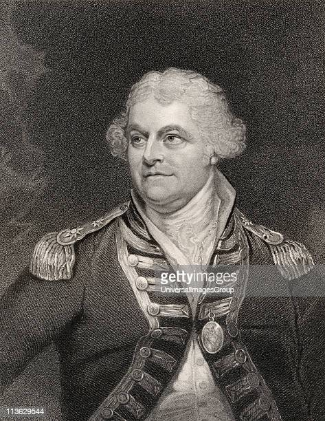 Alan Gardner 1st Baron Gardner 1742 to 1809 British Admiral Engraved by Fenner and Co after W Beechey From the book National Portrait Gallery volume...