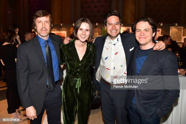 Alan Gilbert Chantal McStay Ryan Chatman and Ted Dodson attend BOMB's 37th Anniversary Gala Art Auction at Capitale on April 30 2018 in New York City