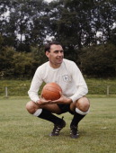 Alan gilzean of tottenham hotspur fc poses for a portrait on 1st june picture id141102884?s=170x170