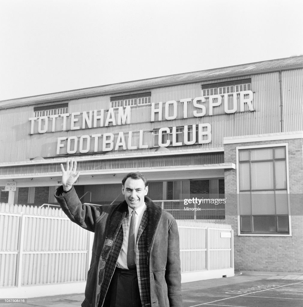 Alan Gilzean Spurs New Signing From Dundee At A Cost Of 72500 News Photo