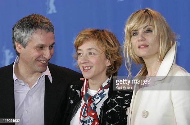 Alan Goldman Sylvie Testud and Emmanuelle Seigner