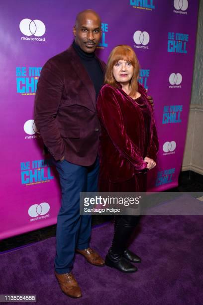 Alan H Green and Annie Golden attend 'Be More Chill' broadway opening night afterparty at Gotham Hall on March 10 2019 in New York City